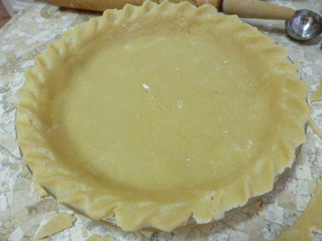 Basic Pie Dough Recipe — Dishmaps