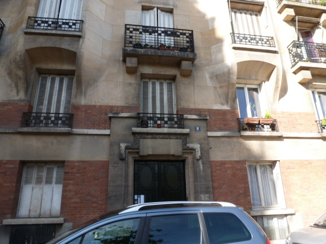 Rose Wilder Lane's Apt in Paris (3)