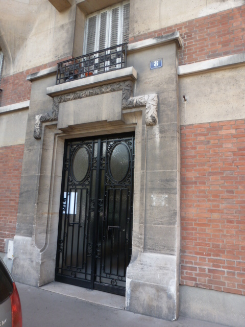 Rose Wilder Lane's Apt in Paris (4)