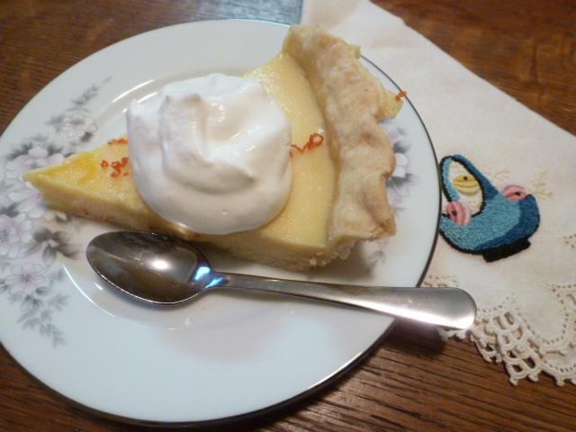 Satsuma Custard Pie