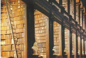 Lovely Old Books at Trinity College Library