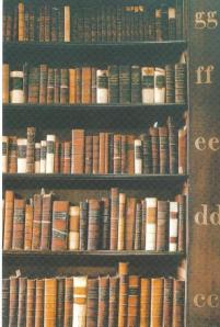 Close-up of the Books