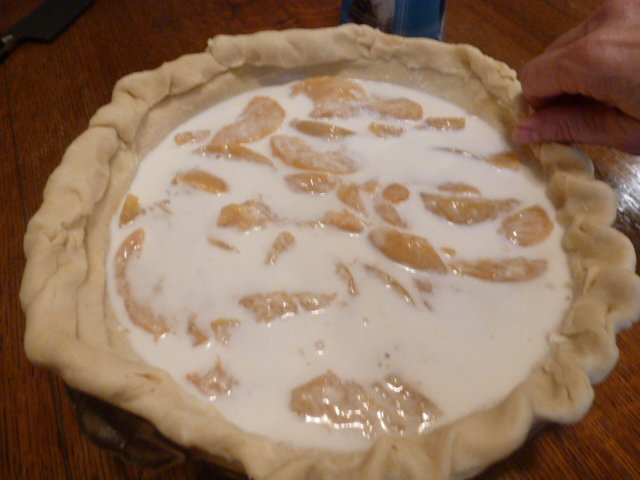 Peaches and Cream Pie (6)