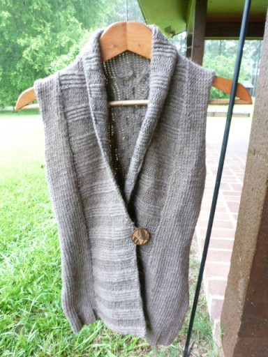 Wool Sweater Vest (2)