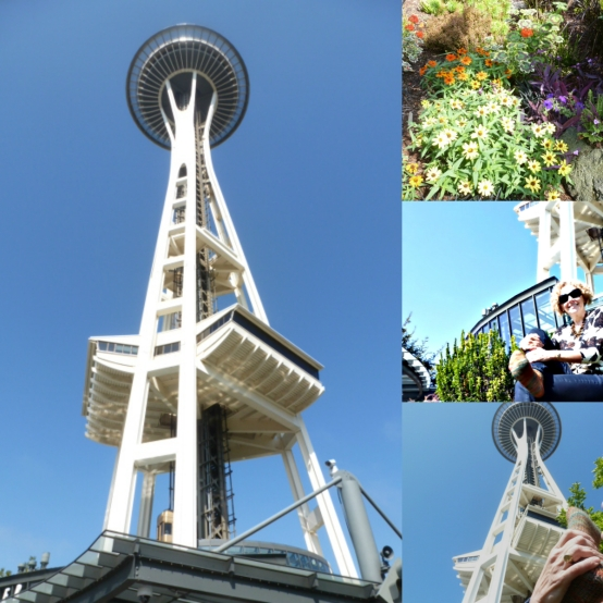 Space Needle Collage