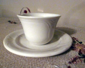 My Royal Doulton cup and saucer - so much more than a cup and saucer.