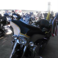 Bikes at the La HOG Rally 2015