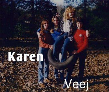 Karen and Vanessa in Kentwood