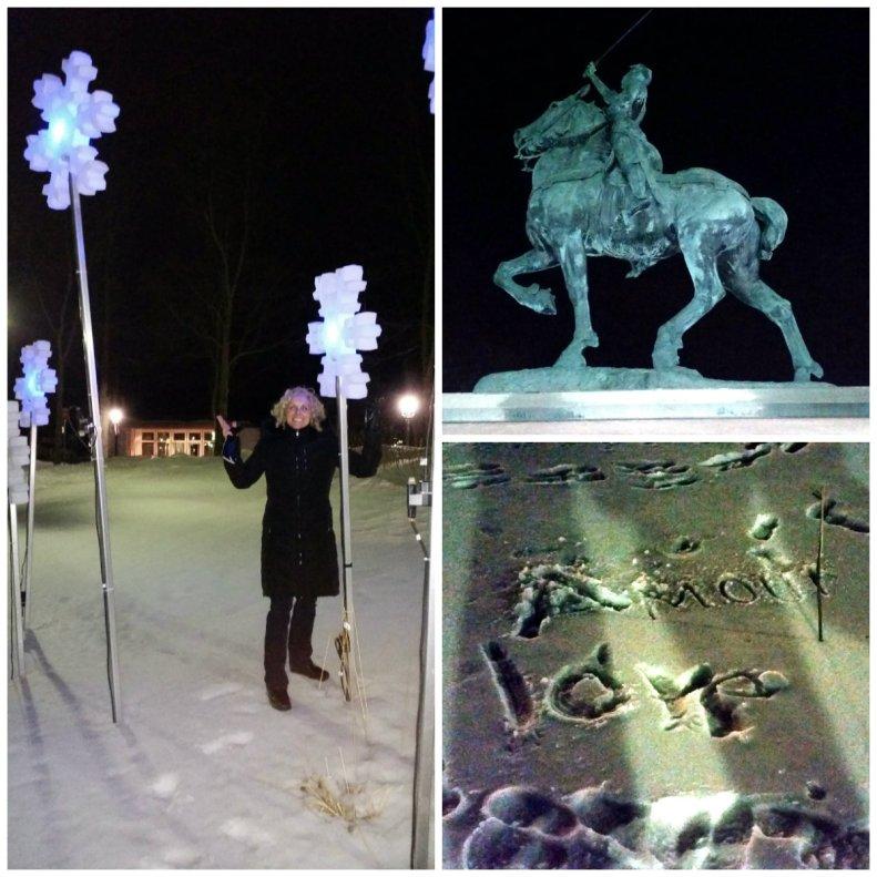 Quebec City Parc Jeanne d'Arc