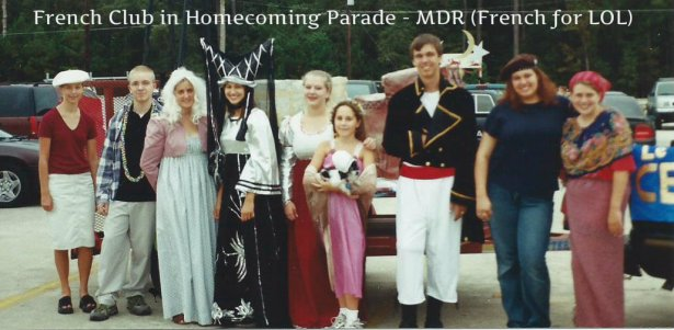 Homecoming Parade 2001 MDR