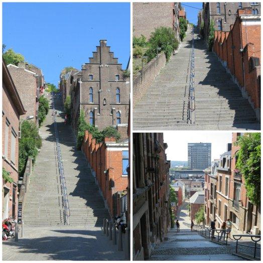 Climbing the Escalier Bueron