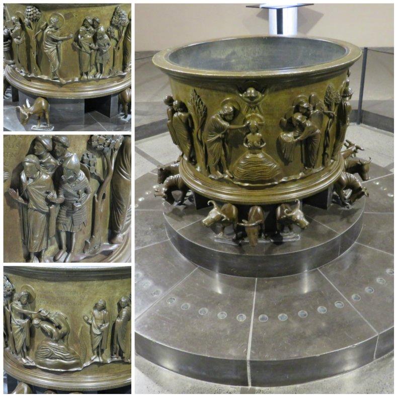 _Fonts baptismaux de Saint-Barthélemy
